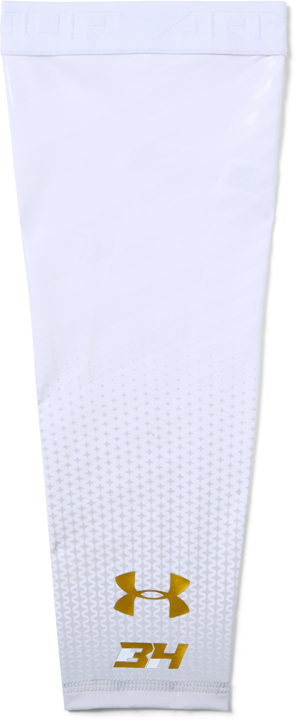 Men's BH34 Baseball Arm Sleeve, White,