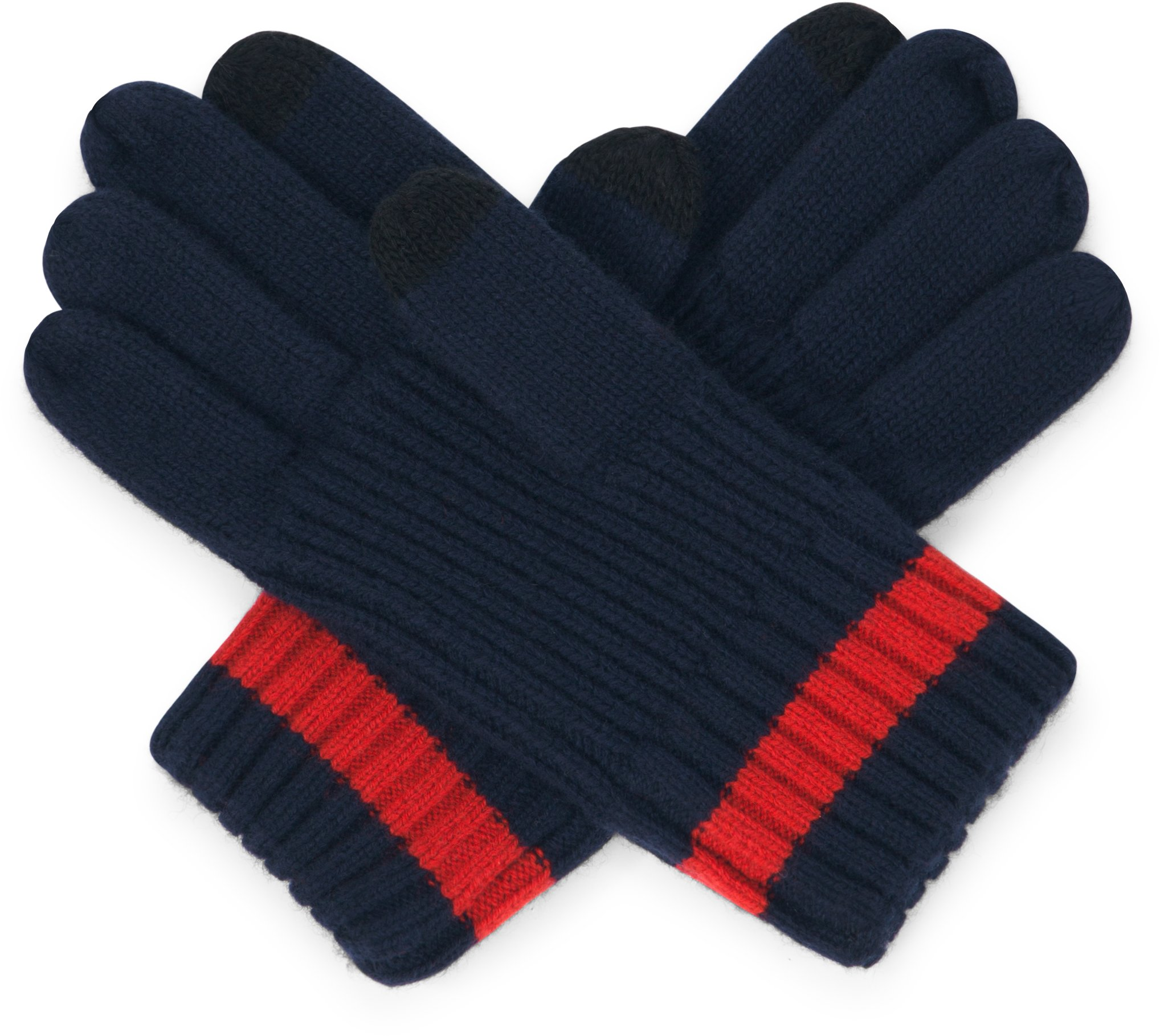 UAS Assembly Knit Gloves, Navy, zoomed image