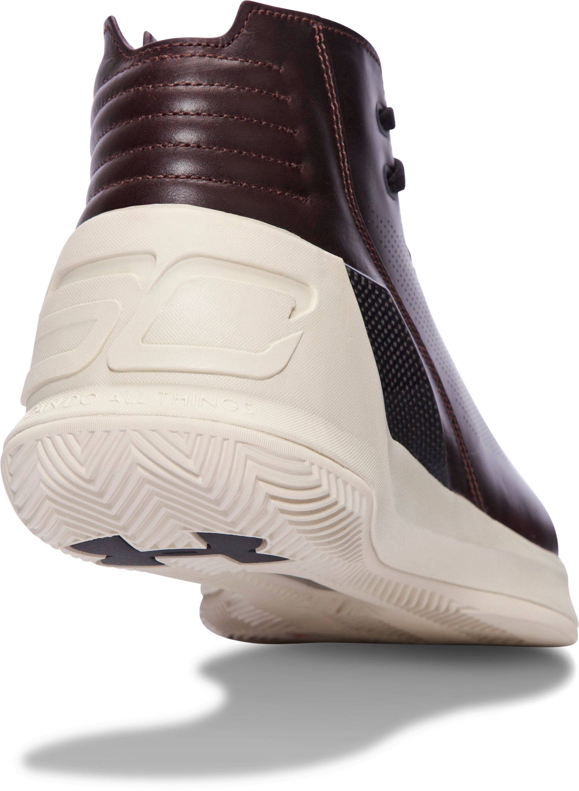 Men's UA Curry Lux Oxblood Leather Basketball Shoes, Ox Blood, undefined