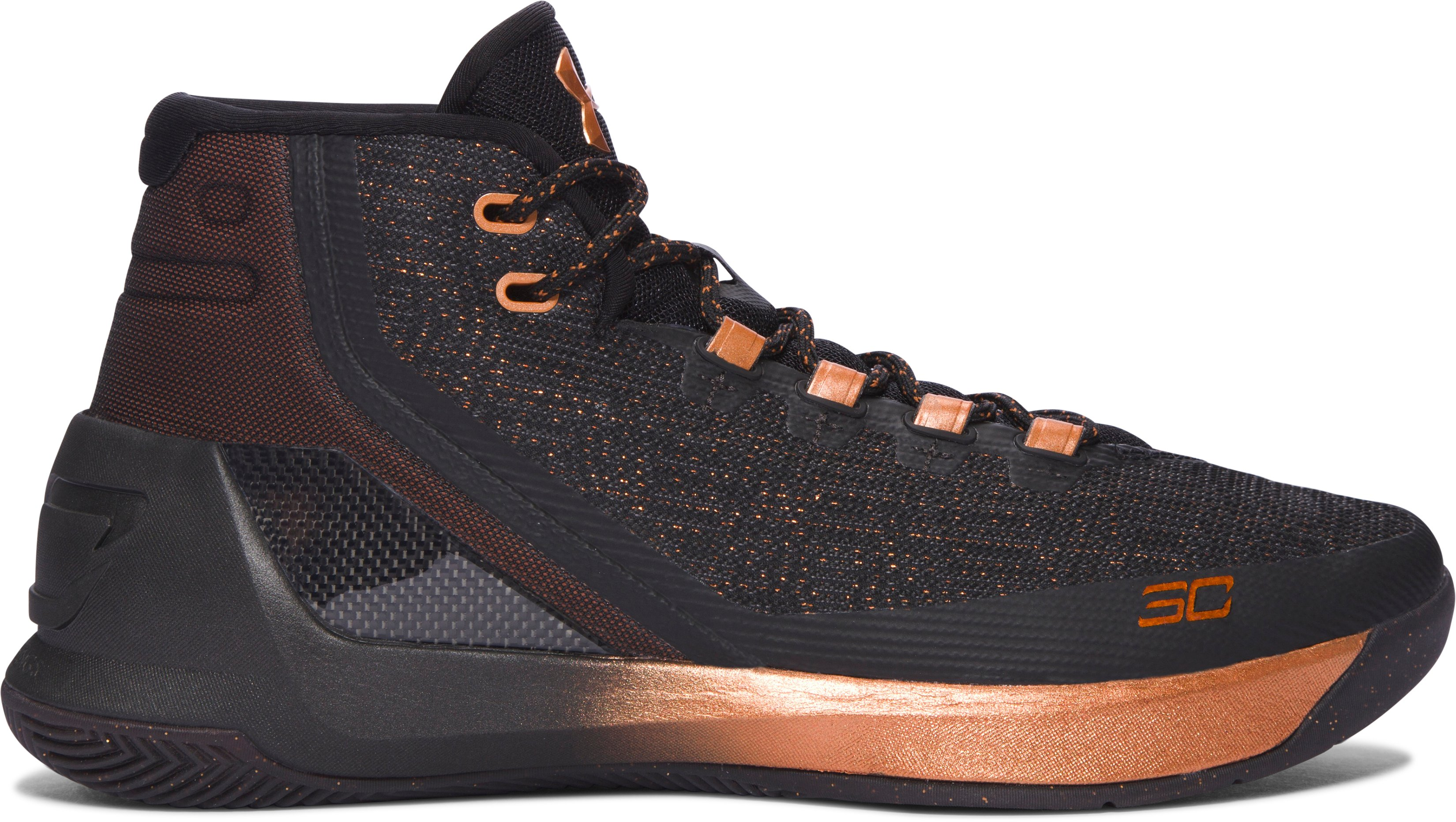 Men's UA Curry 3 ASW Basketball Shoes, BRASS BAND