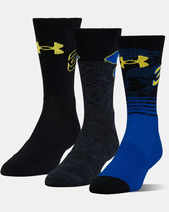Men's SC30 Phenom Crew Socks - 3-Pack, Blue, pdpMainDesktop image number 0