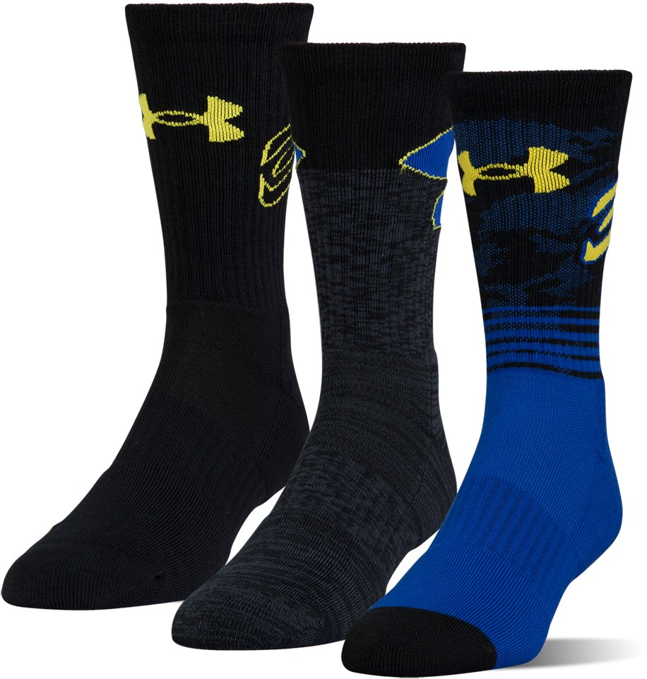 Men's SC30 Phenom Crew Socks – 3-Pack, Royal