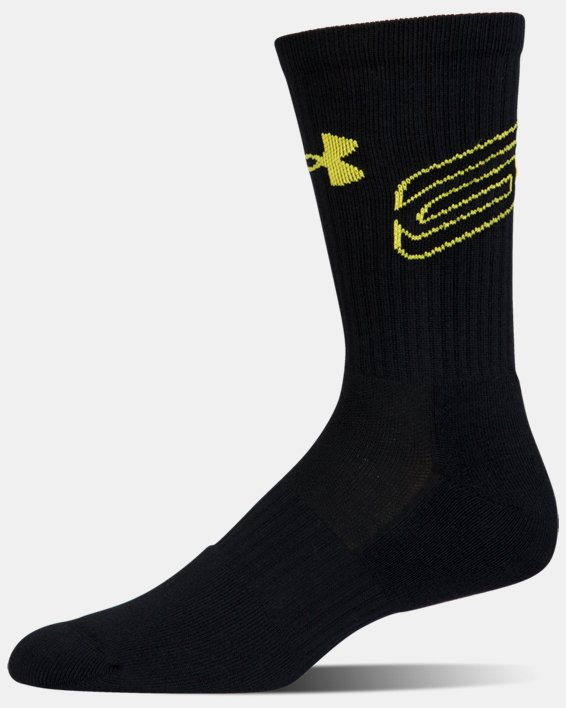 Men's SC30 Phenom Crew Socks - 3-Pack, Blue, pdpMainDesktop image number 11