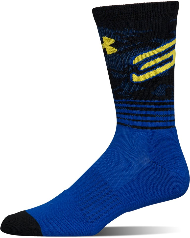 Men's SC30 Phenom Crew Socks – 3-Pack, Royal,