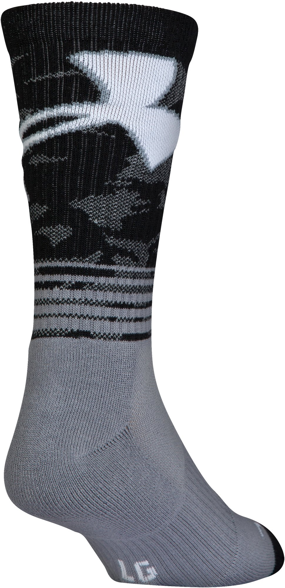 Boys' SC30 Phenom 2.0 Crew Socks – 3-Pack, Steel, undefined