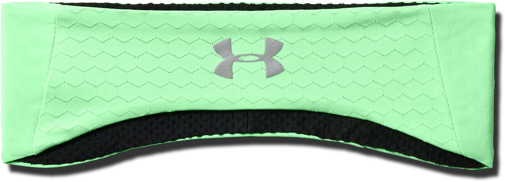 Women's ColdGear® Reactor Headband, GREEN TYPHOON,