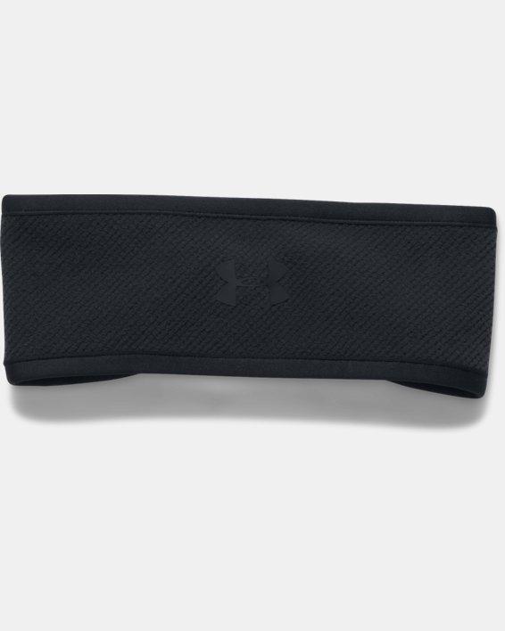 Women's ColdGear® Infrared Fleece Headband, Black, pdpMainDesktop image number 0