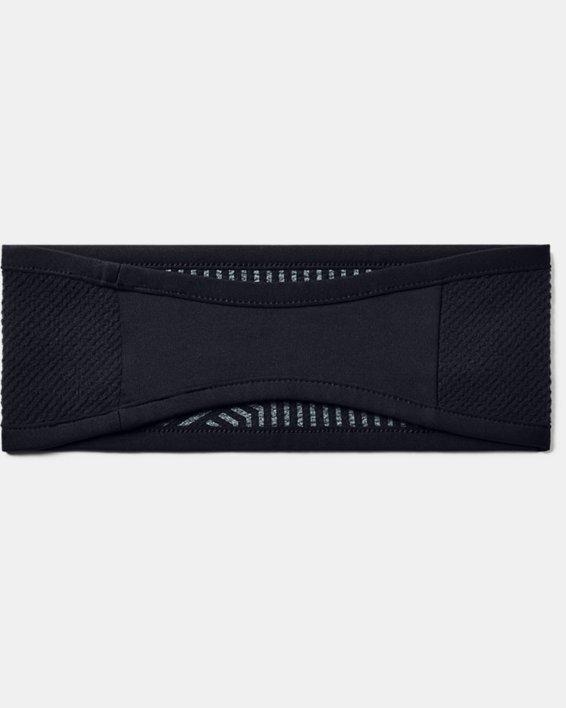 Women's ColdGear® Infrared Fleece Headband, Black, pdpMainDesktop image number 2