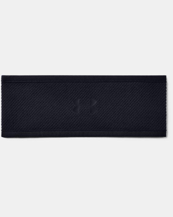 Women's ColdGear® Infrared Fleece Headband, Black, pdpMainDesktop image number 1