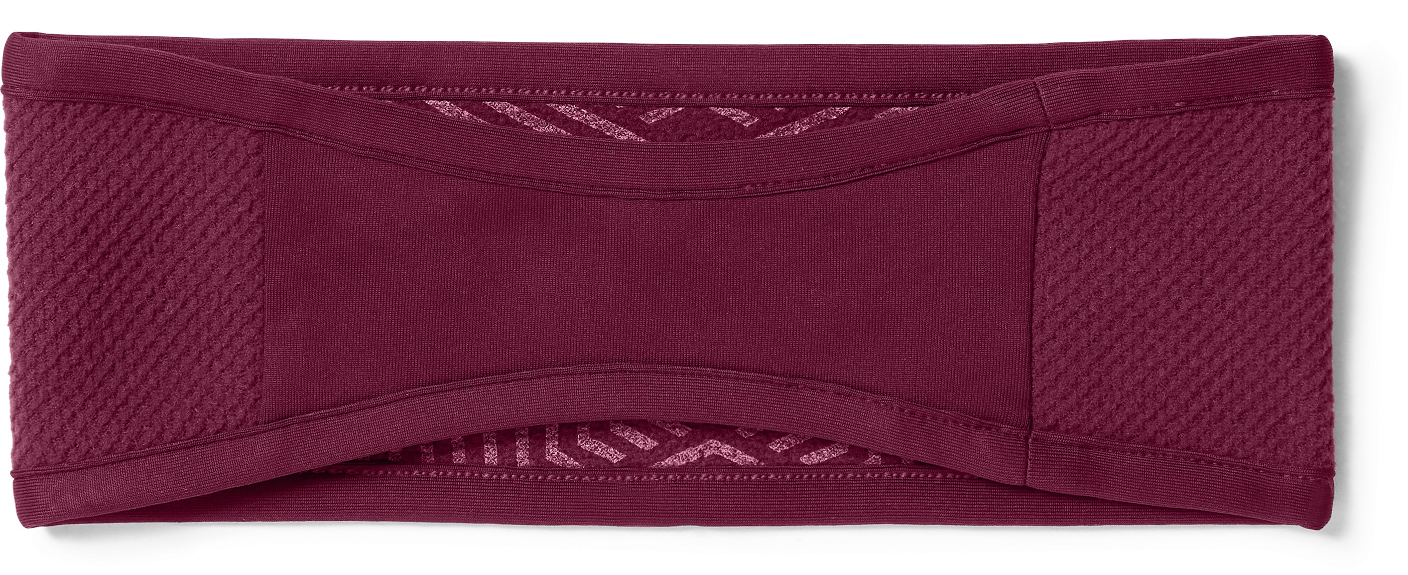Women's ColdGear® Infrared Fleece Headband, BLACK CURRANT,
