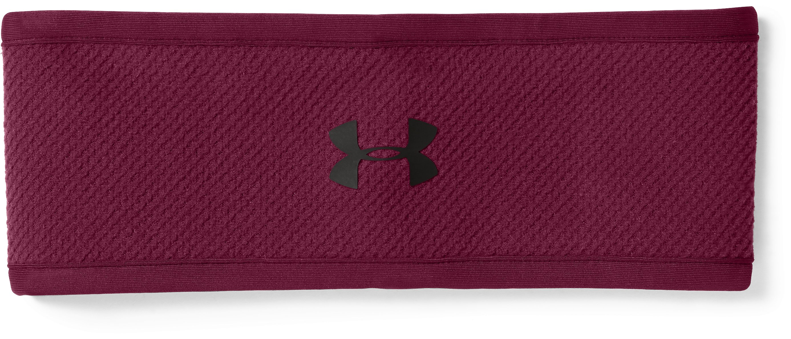 Women's ColdGear® Infrared Fleece Headband, BLACK CURRANT