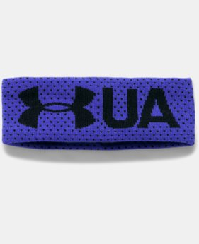 Girls' UA Favorite Fleece Headband LIMITED TIME OFFER 1 Color $13.99