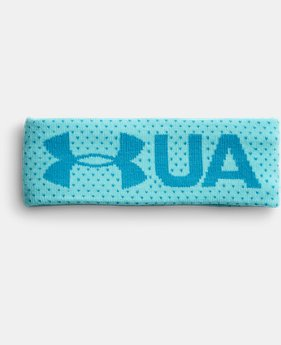 Girls' UA Favorite Fleece Headband  1 Color $19.99