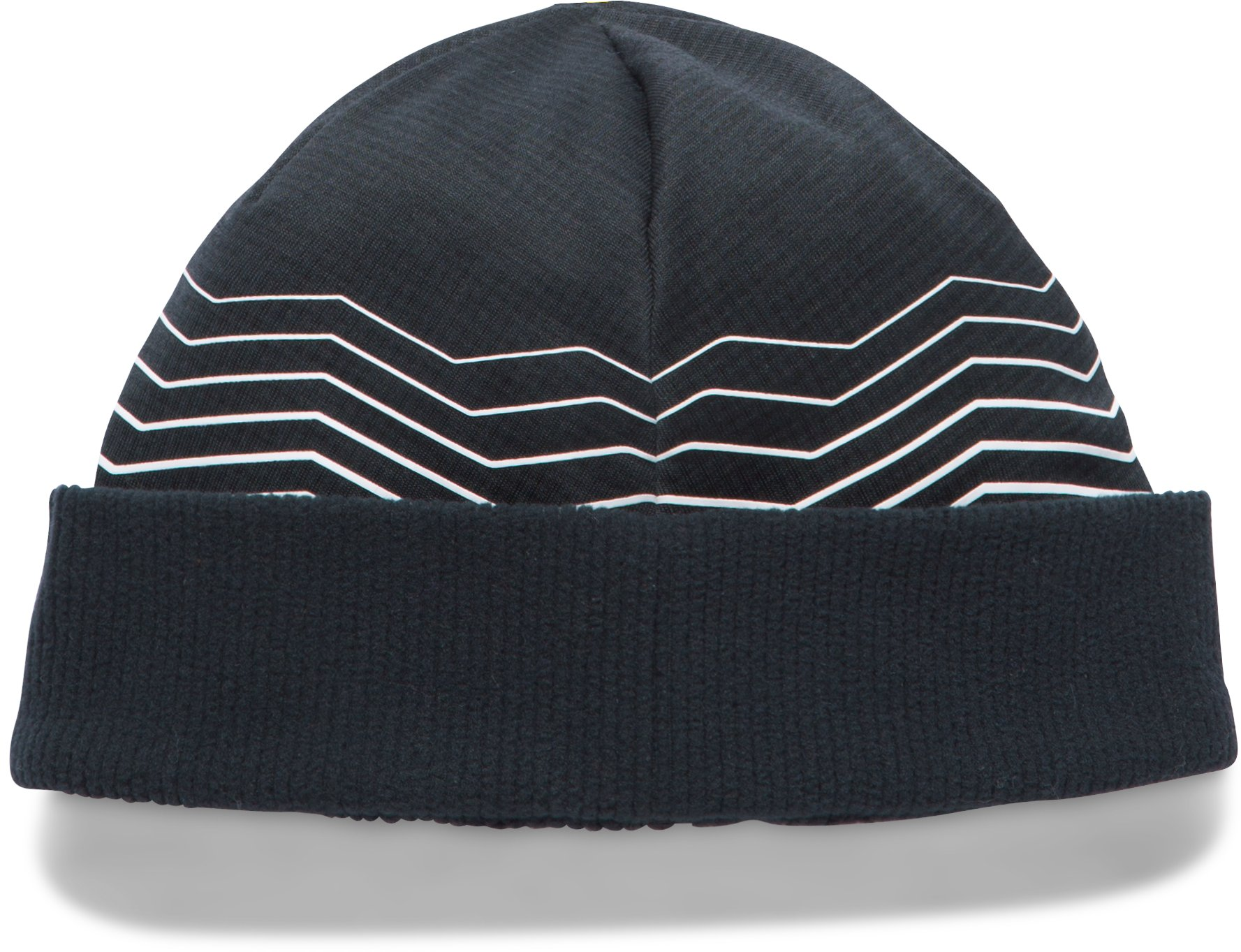 Girls' ColdGear® Reactor Fleece Beanie, Black , undefined