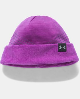 New Arrival Girls' ColdGear® Reactor Fleece Beanie   $24.99