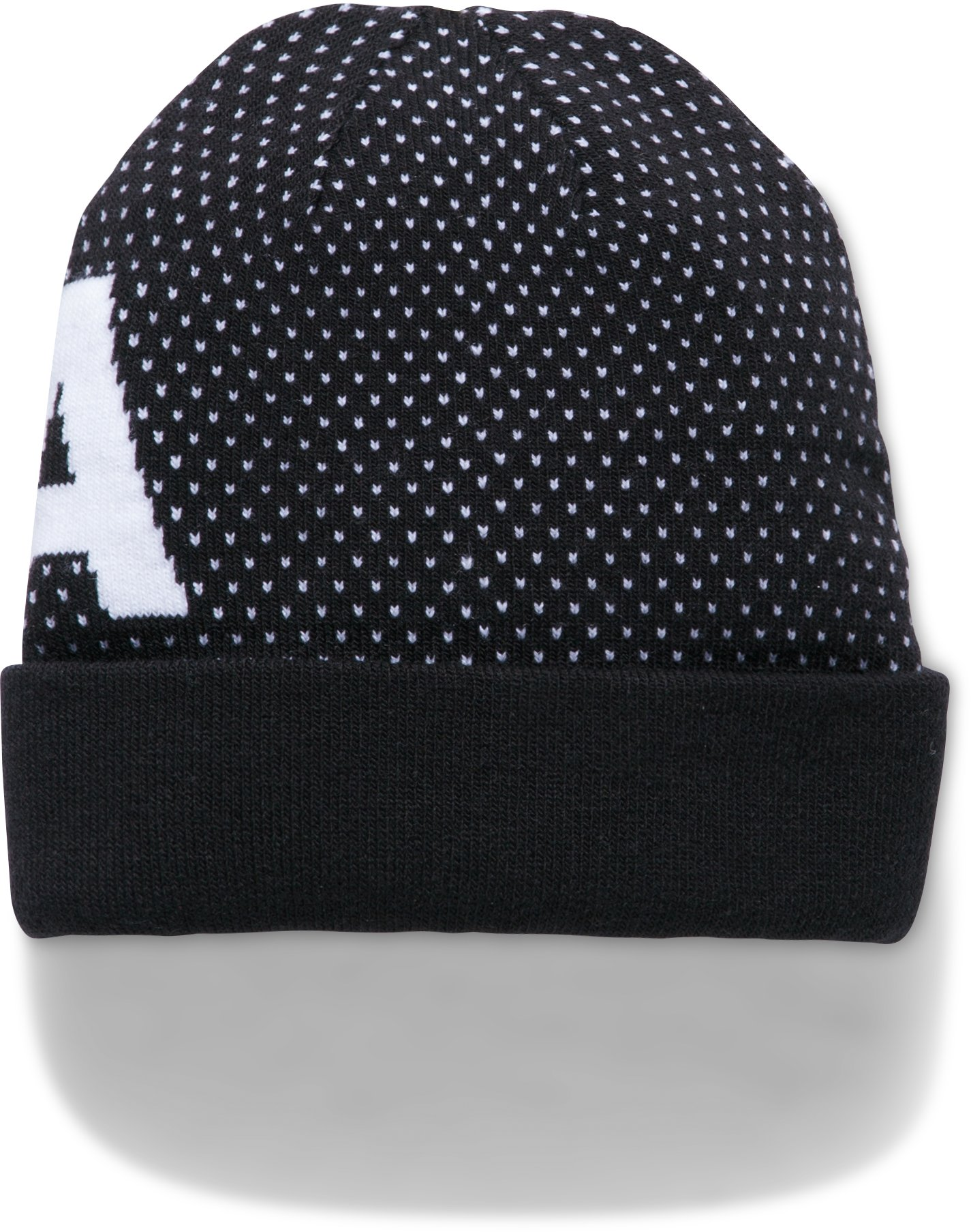 Girls' UA Favorite Beanie, Black ,