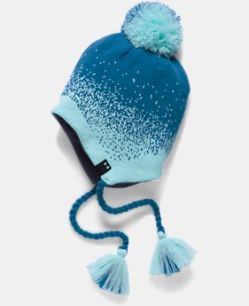 Girls' UA Tassel Beanie LIMITED TIME OFFER 1 Color $20.99