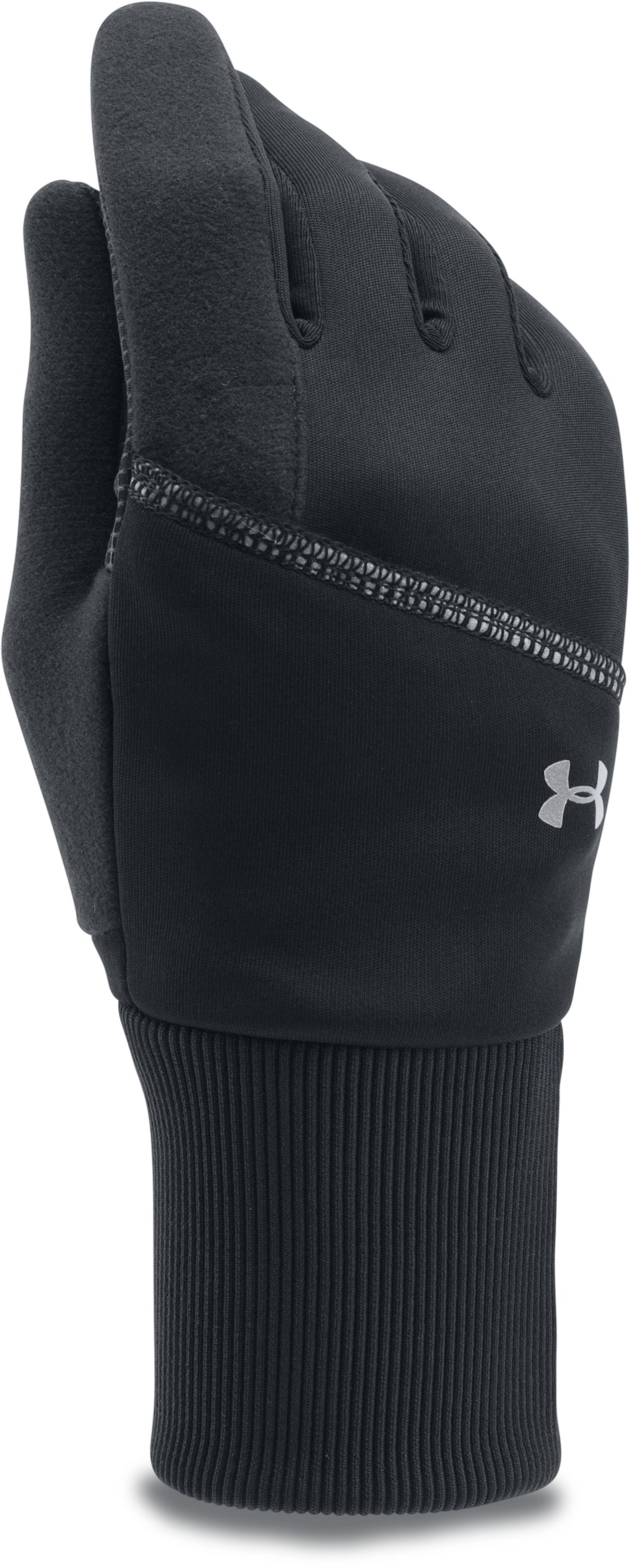 Women's UA Convertible Gloves, Black