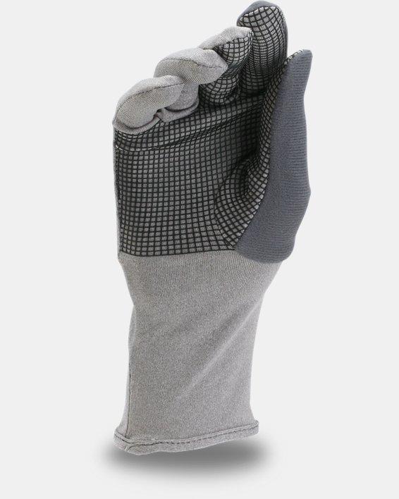 Women's UA ColdGear® Infrared Liner Gloves, Gray, pdpMainDesktop image number 1