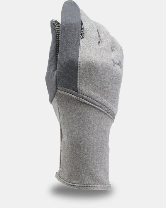 Women's UA ColdGear® Infrared Liner Gloves, Gray, pdpMainDesktop image number 0