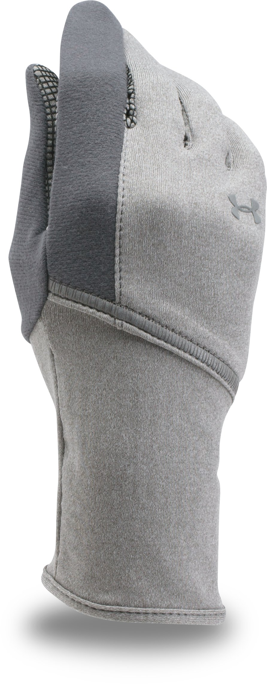 Women's UA ColdGear® Infrared Liner Gloves, True Gray Heather, undefined