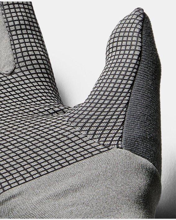Women's UA ColdGear® Infrared Liner Gloves, Gray, pdpMainDesktop image number 4