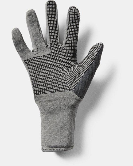 Women's UA ColdGear® Infrared Liner Gloves, Gray, pdpMainDesktop image number 3