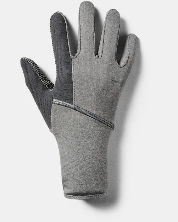 Women's UA ColdGear® Infrared Liner Gloves, Gray, pdpMainDesktop image number 2