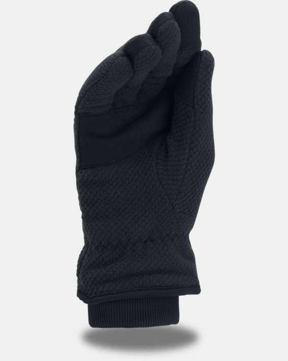 Women's UA ColdGear® Infrared Fleece Gloves, Black, pdpMainDesktop image number 1
