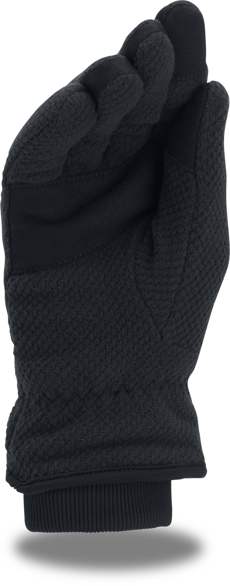 Women's UA ColdGear® Infrared Fleece Gloves, Black ,