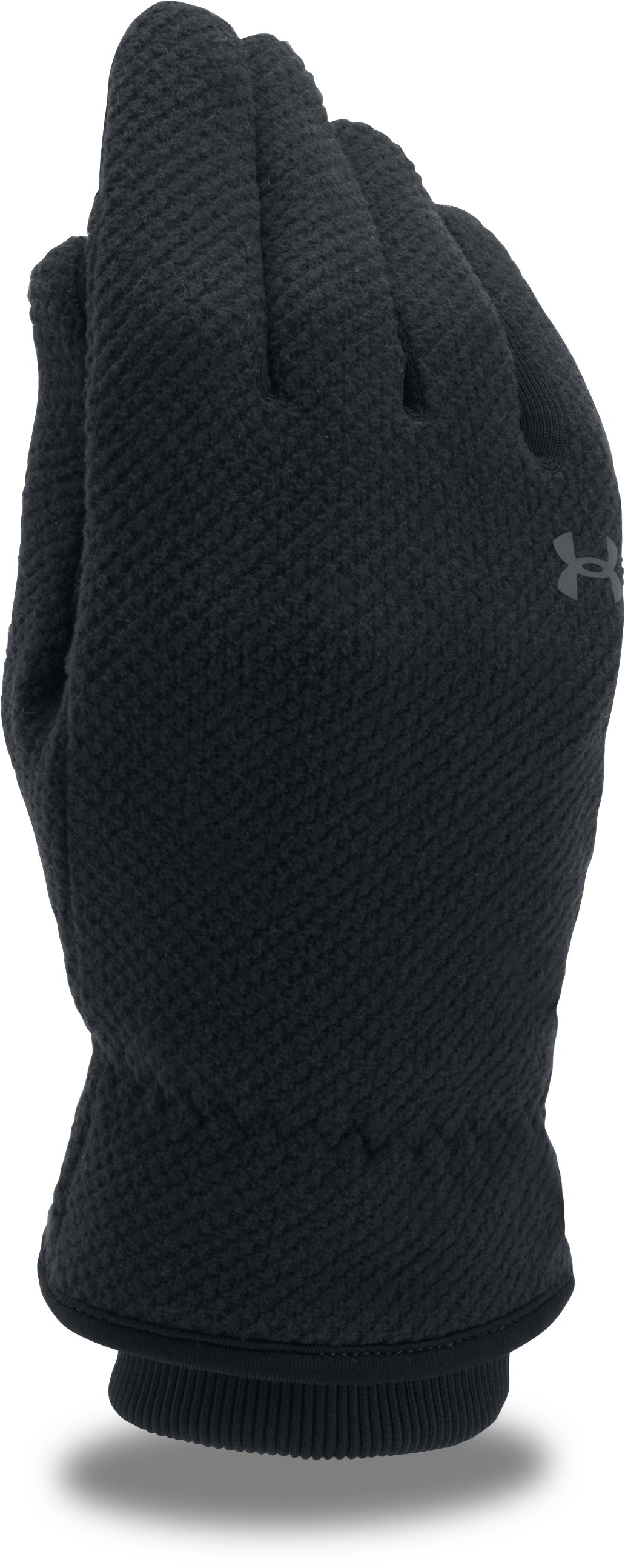 Women's UA ColdGear® Infrared Fleece Gloves, Black