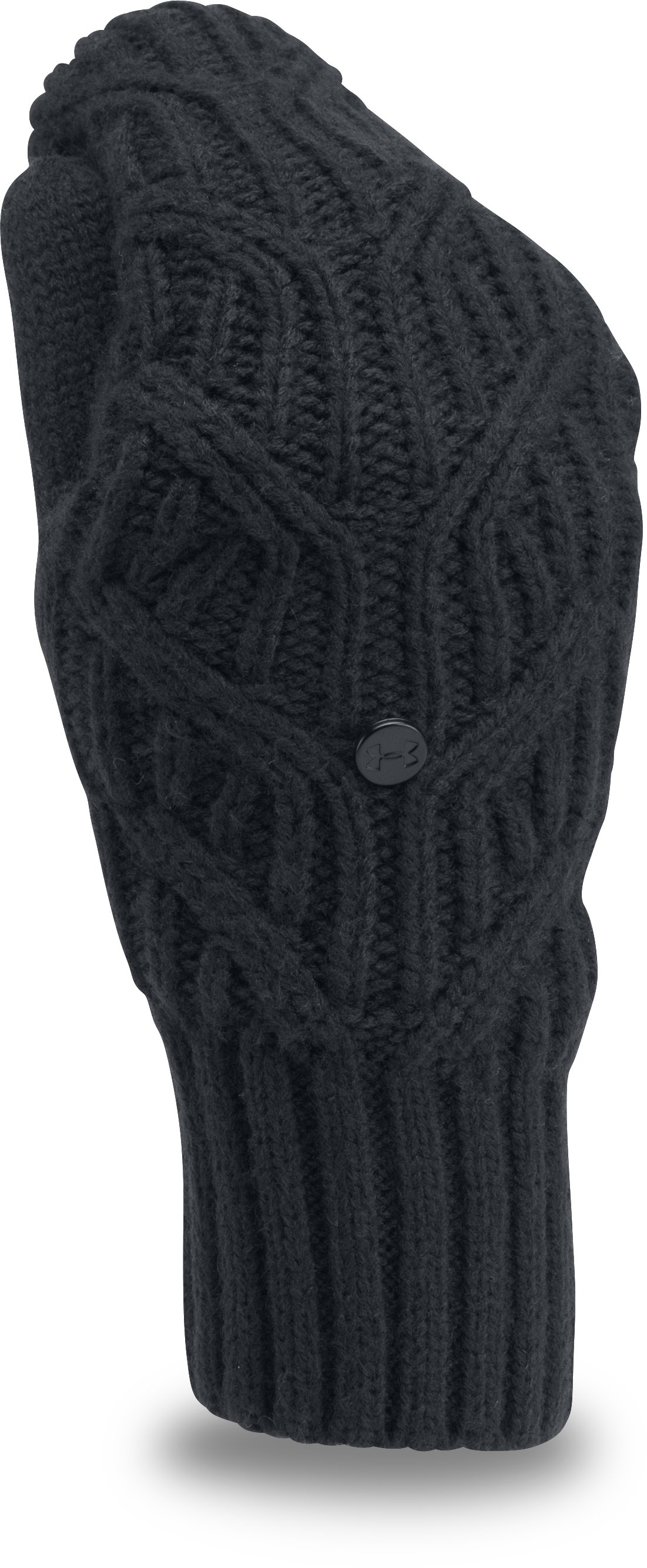 Women's UA Around Town Mittens, Black , zoomed image