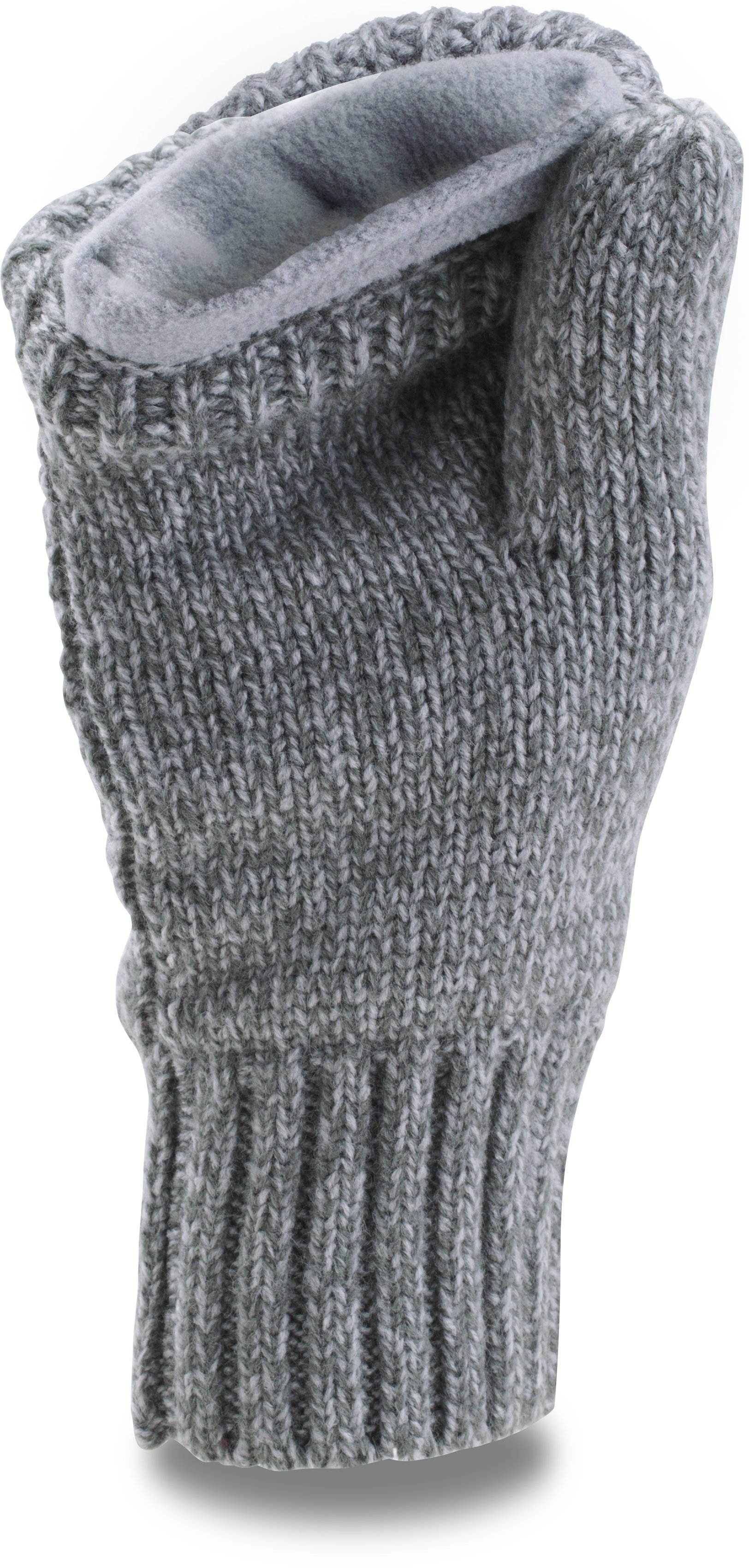 Women's UA Around Town Mittens, RHINO GRAY,