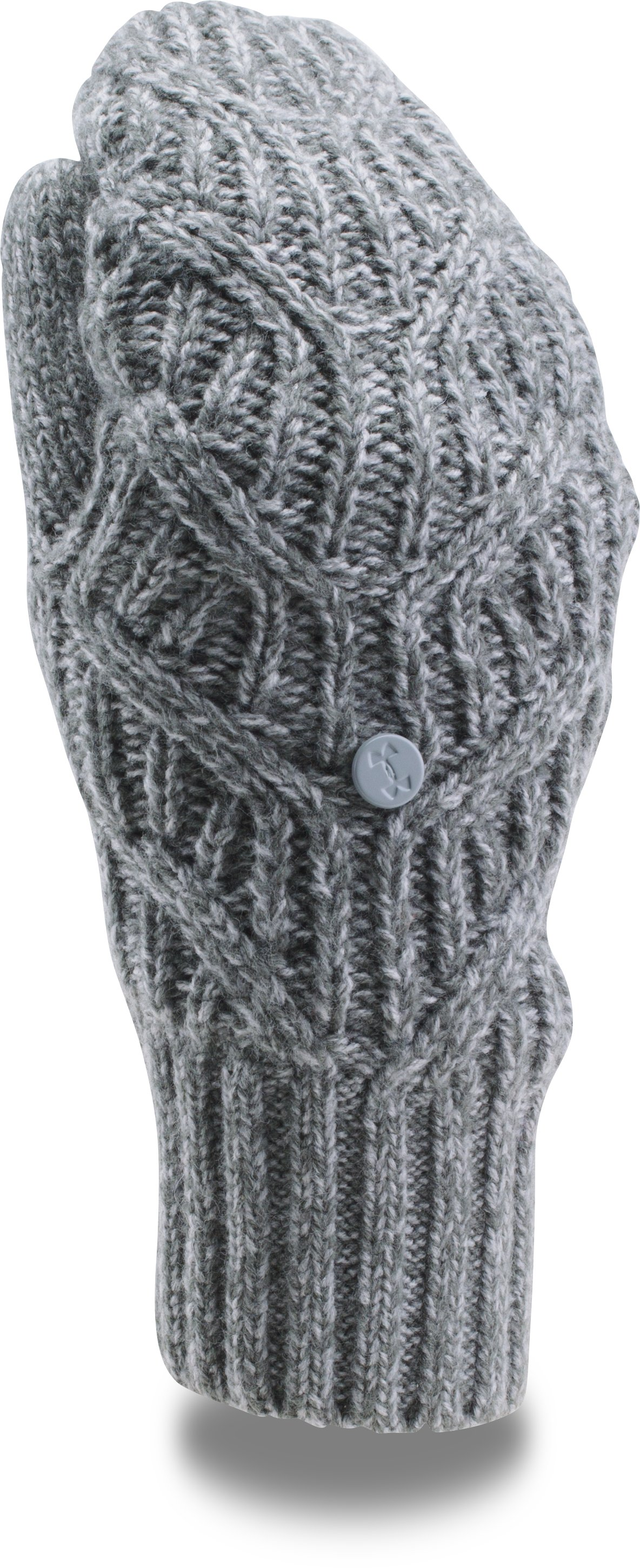Women's UA Around Town Mittens, RHINO GRAY