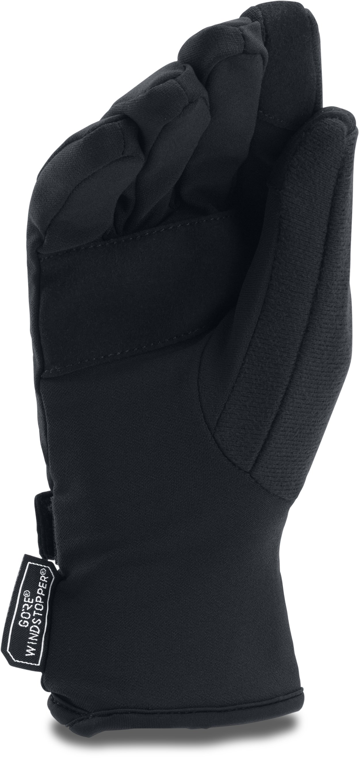 Women's UA WINDSTOPPER® Gloves, Black