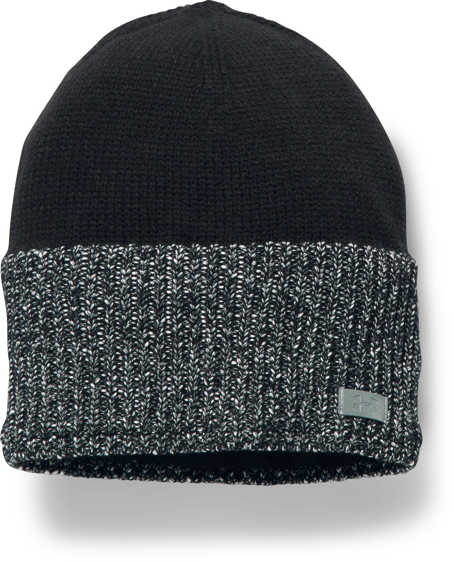 Women's UA WINDSTOPPER® Knit Beanie, Black ,