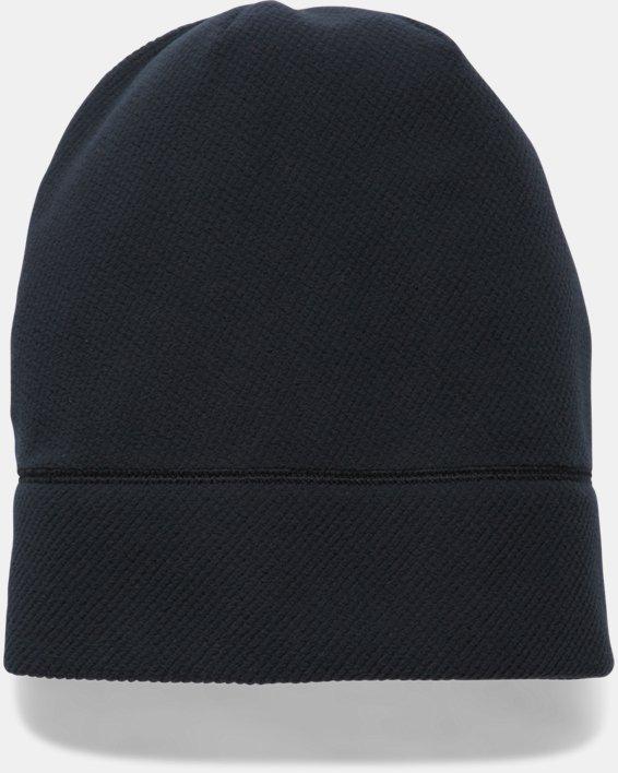 Women's UA ColdGear® Infrared Fleece Beanie, Black, pdpMainDesktop image number 2