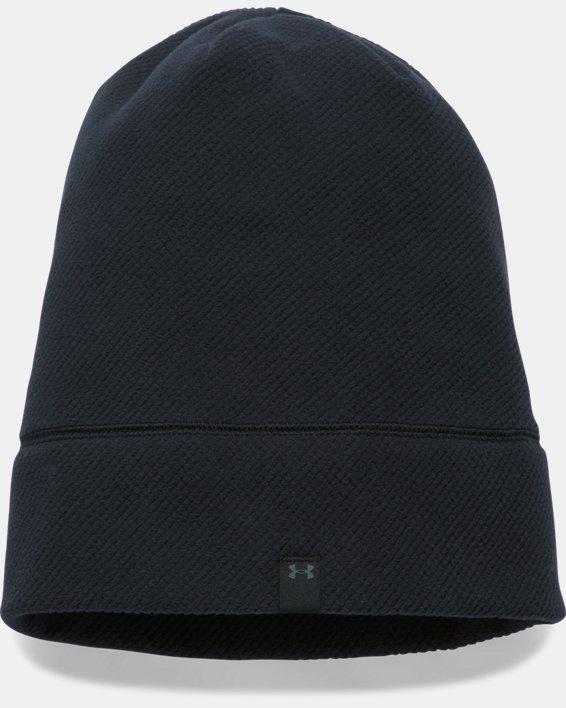 Women's UA ColdGear® Infrared Fleece Beanie, Black, pdpMainDesktop image number 1