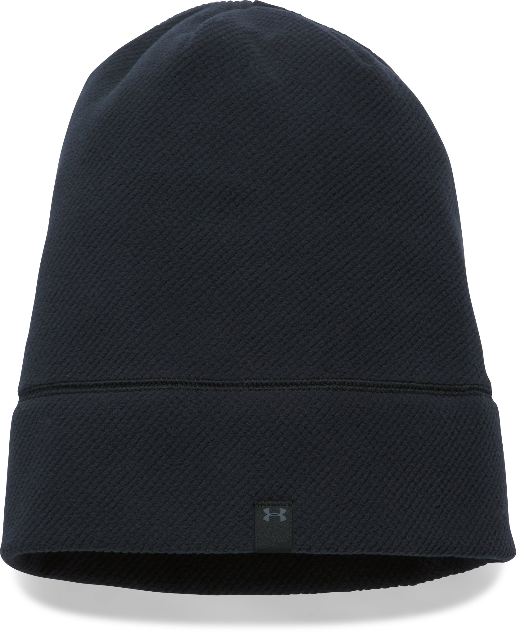 Women's UA ColdGear® Infrared Fleece Beanie, Black ,