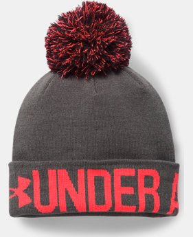 Women's UA Graphic Pom Beanie  2  Colors Available $24.74