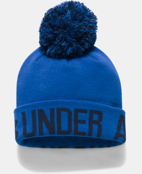 Women's UA Graphic Pom Beanie  1 Color $27.99