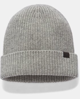 Women's UA Charged Wool Beanie LIMITED TIME OFFER 1 Color $27.99