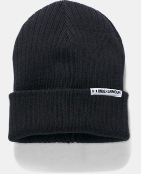 Women's UA Boyfriend Cuff Beanie  1  Color Available $26.99