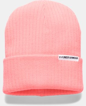 Women's UA Boyfriend Cuff Beanie  1 Color $16.49