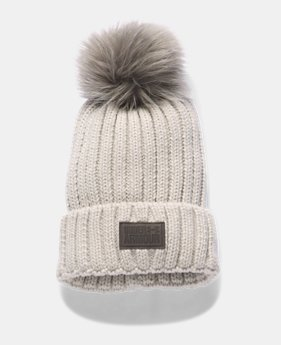 d23886b7f00 Women s UA Snowcrest Pom Beanie 1 Color Available  34.99