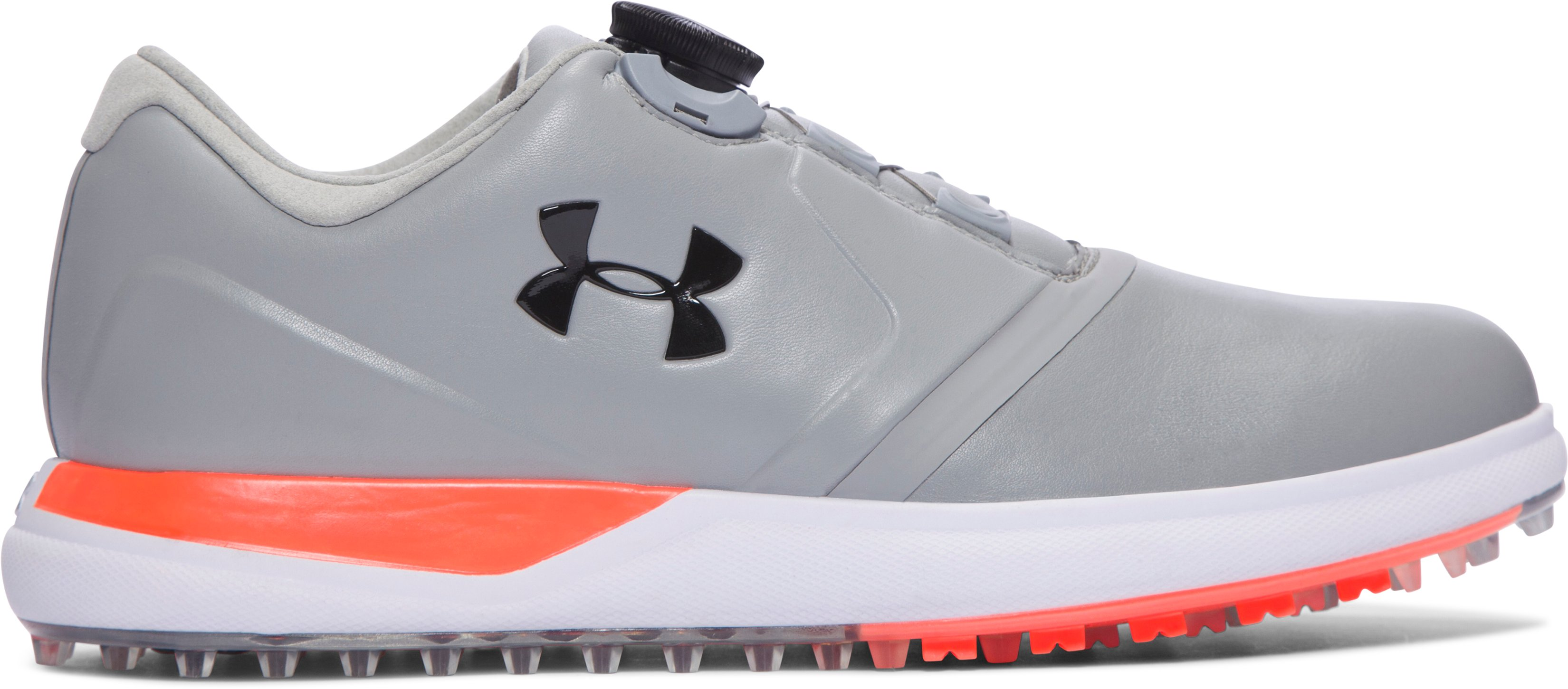 Women's UA Performance Spikeless BOA™ Golf Shoes, Steel, undefined