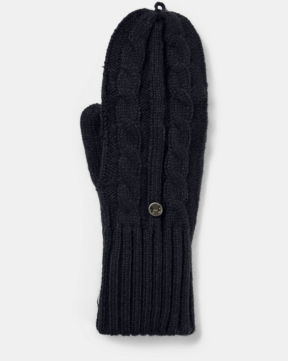 Women's UA Around Town Mittens, Black, pdpMainDesktop image number 1