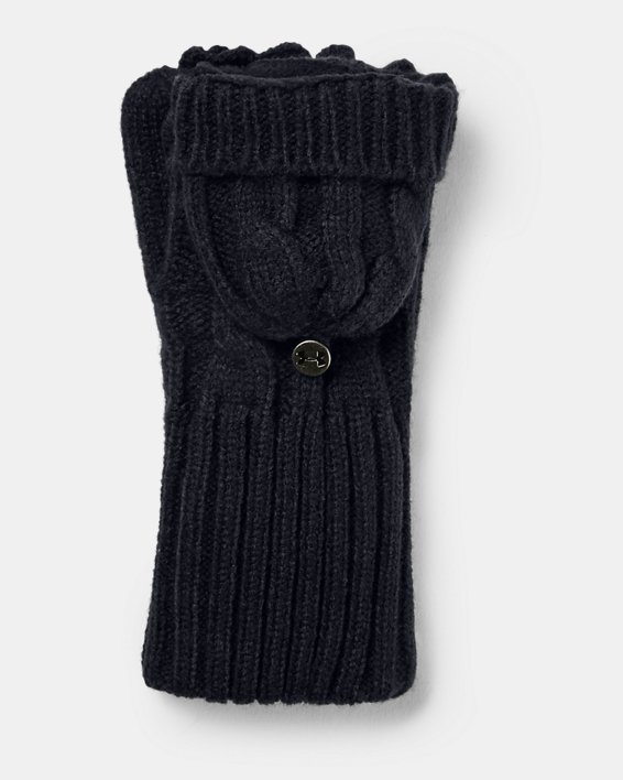 Women's UA Around Town Mittens, Black, pdpMainDesktop image number 0