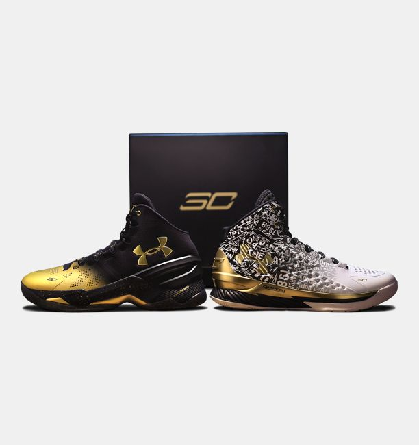 Under Armour Mens UA Curry Back 2 Back MVP Pack 1300015 001 Mens basketball sports shoes sneakers