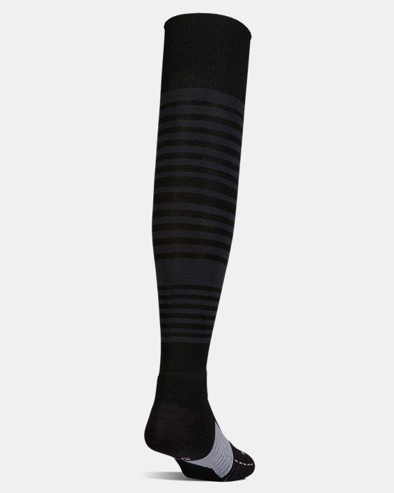 UA Global Performance Over-The-Calf Soccer Socks, Black, pdpMainDesktop image number 2
